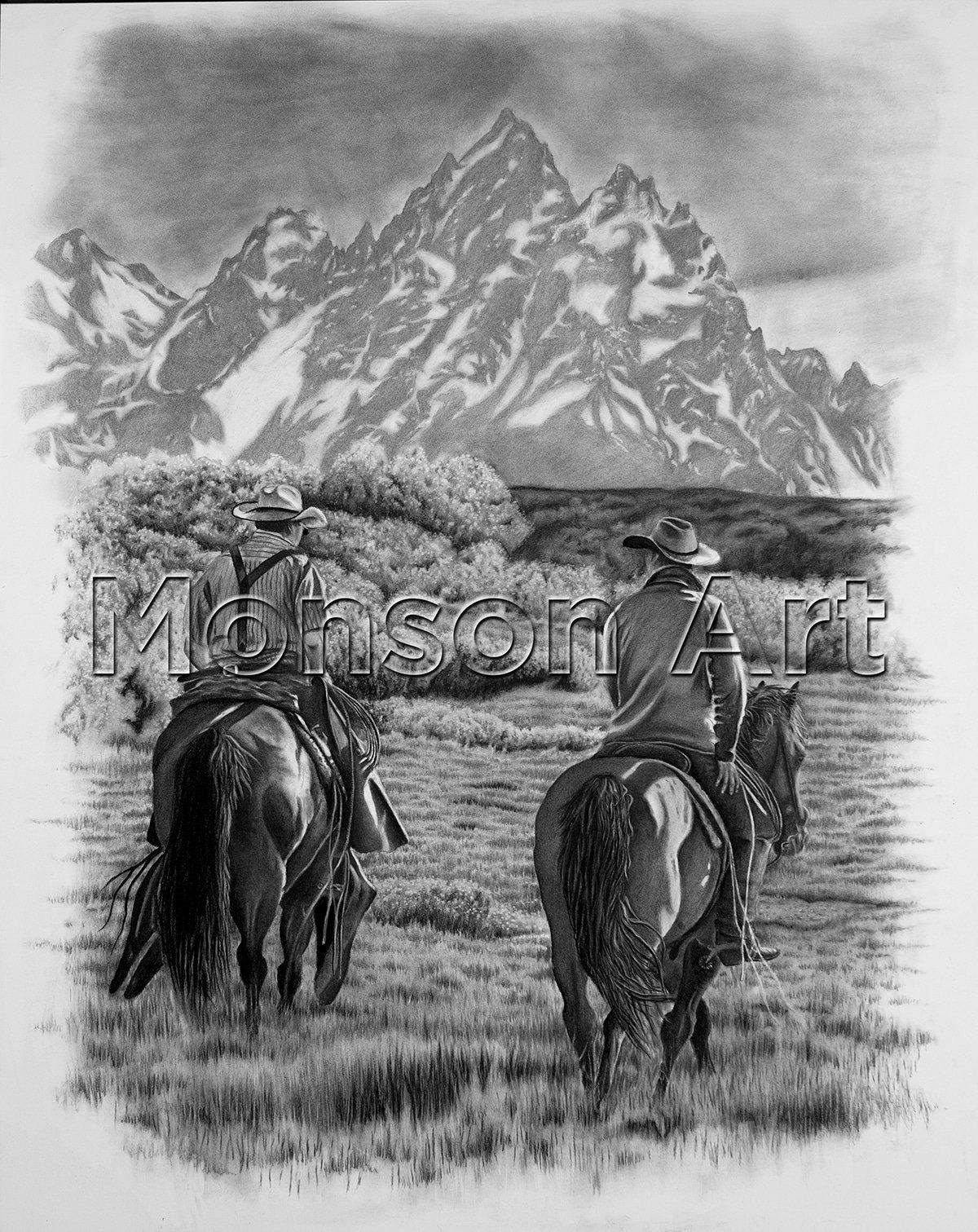 Monson190312-002 Teton Riders 32×40